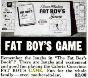 Fat Boy's Game